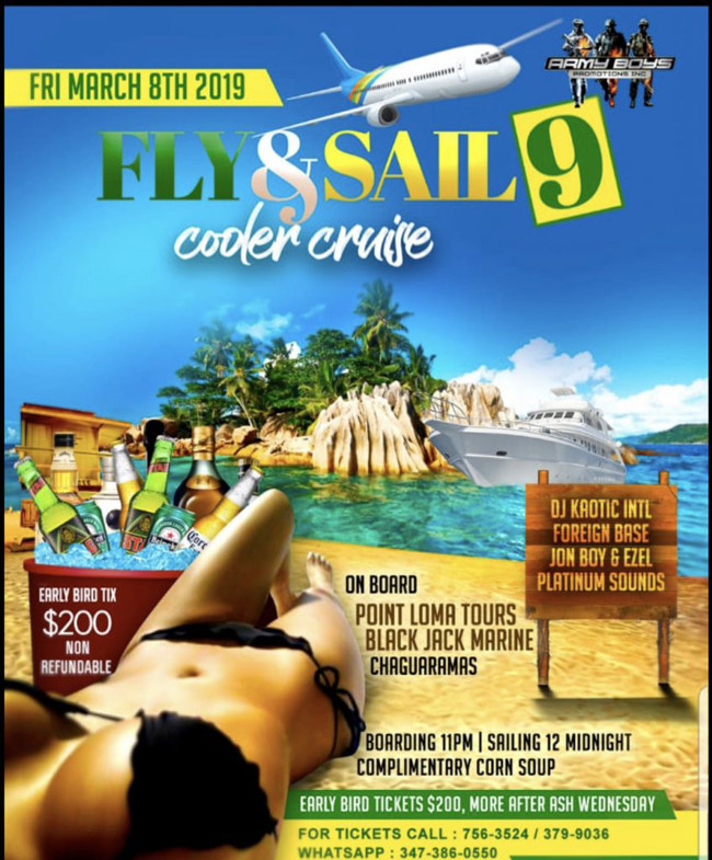 Fly & Sail - Cooler Cruise