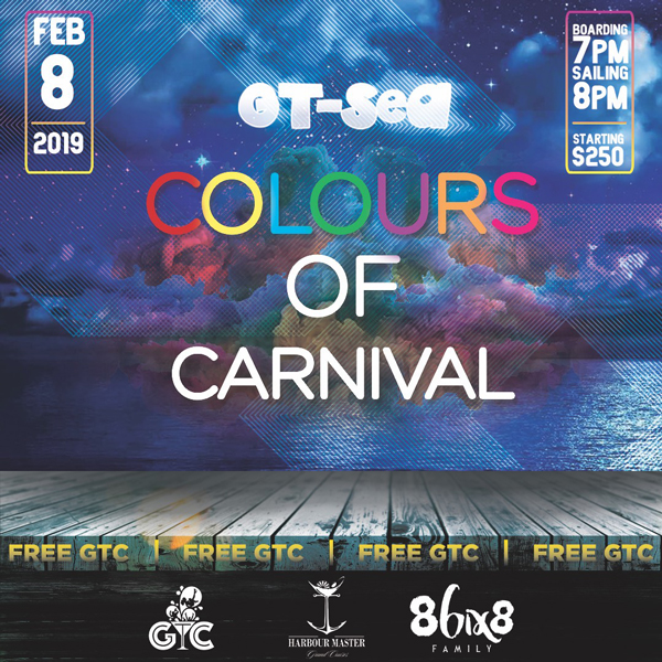 GT-Sea - Colours of Carnival Cooler Cruise