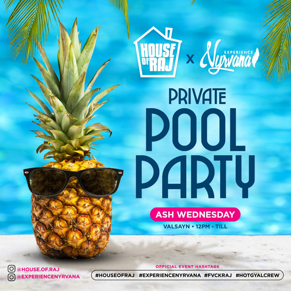 #HouseOfRAJ X #ExperienceNYRVANA Pool Party