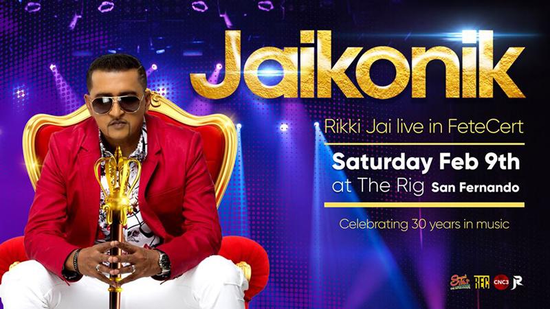 Jaikonik - Rikki Jai Live in FeteCert