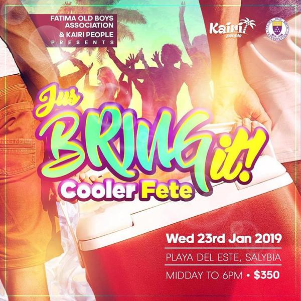 Jus Bring It! - Cooler Fete