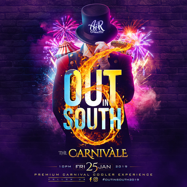 OUT in SOUTH Carnival Cooler Experience