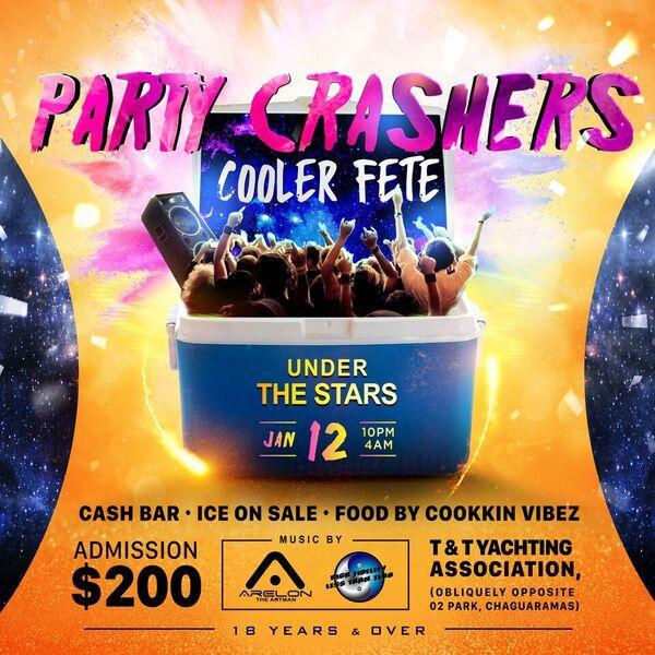 Party Crashers Cooler Fete