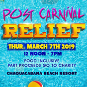 Post Carnival Relief 2019 - Sun, Buns and Fun