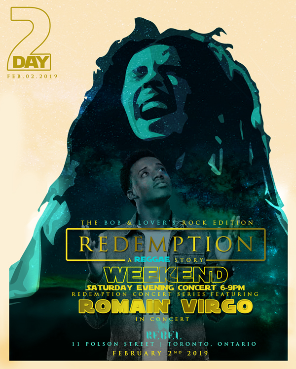 Redemption - Weekend Bob and Lovers Rock Edition Day 2