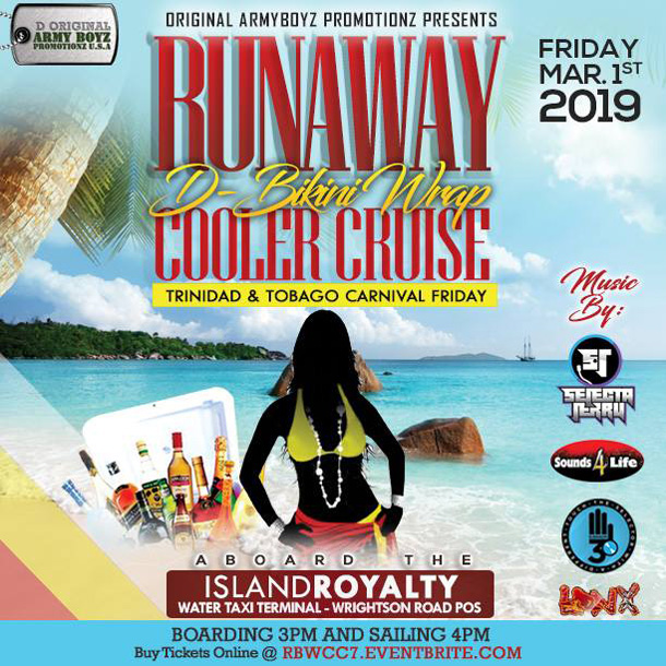 Ruanaaaway - The Bikini Wrap Cooler Cruise