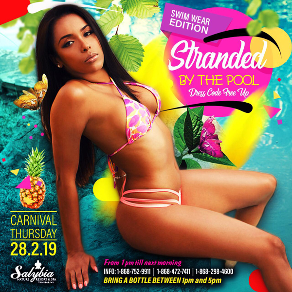 Stranded by the Pool - Cooler Fete