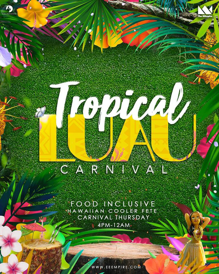 Tropical Luau Food Inclusive