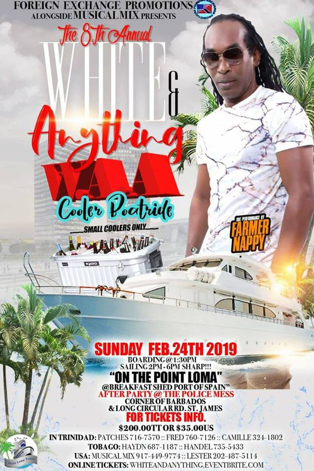 Thea 8th Annual White & Anything Cooler Boatride
