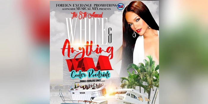 The 8th Annual White & Anything Cooler Boatride