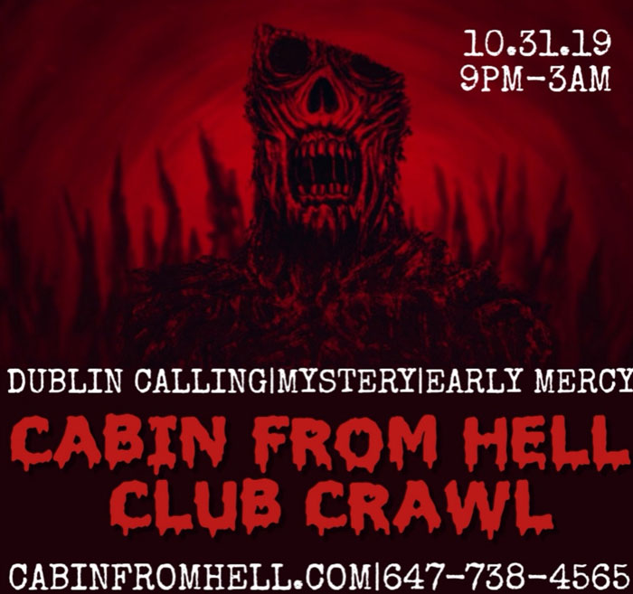 Cabin From Hell Halloween Bar Party