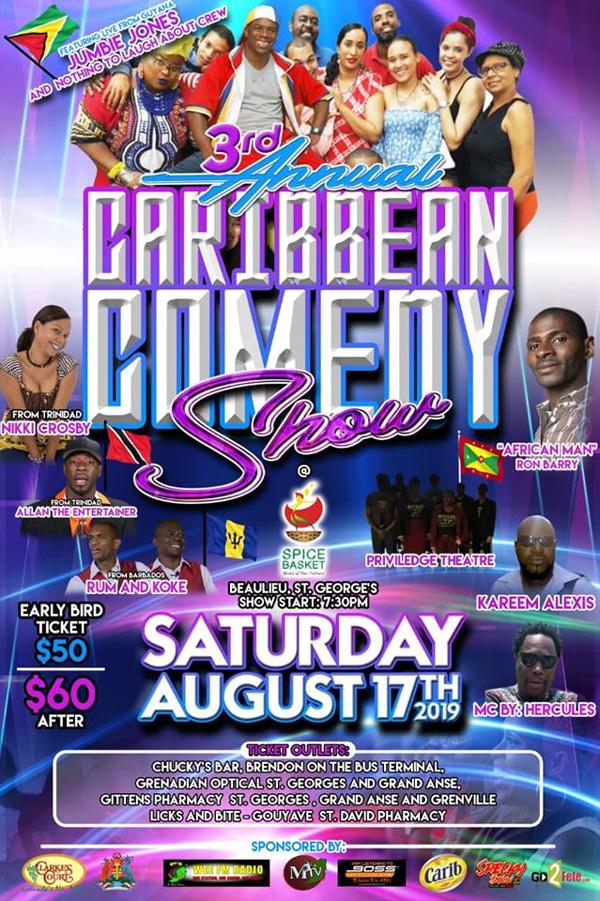 Caribbean Comedy Show 3.0