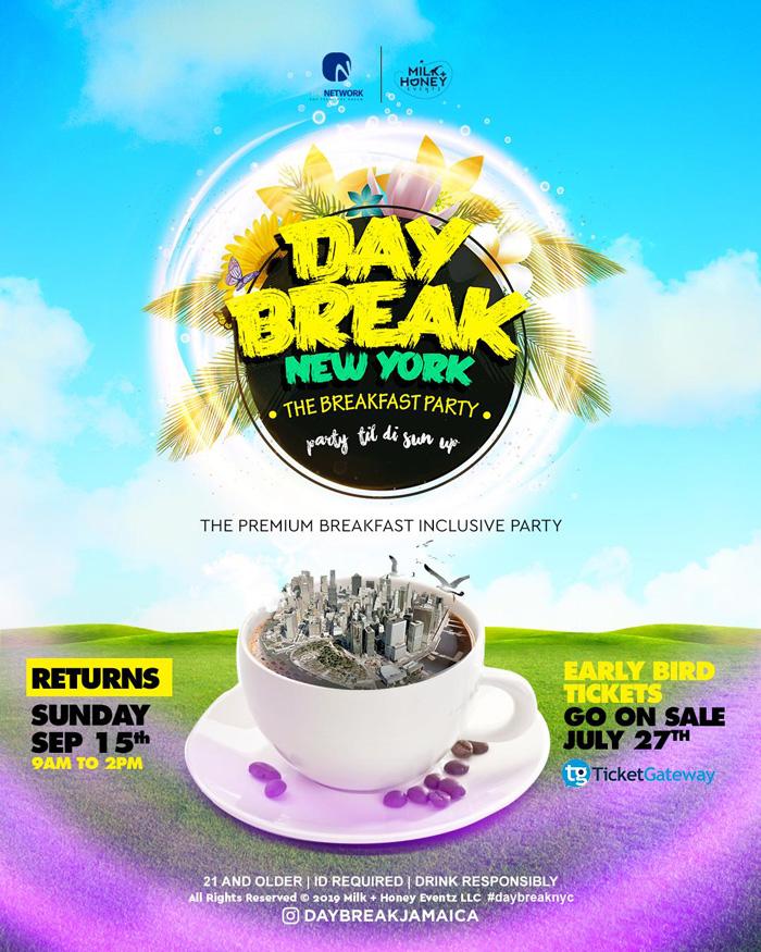 Daybreak Breakfast Party NYC