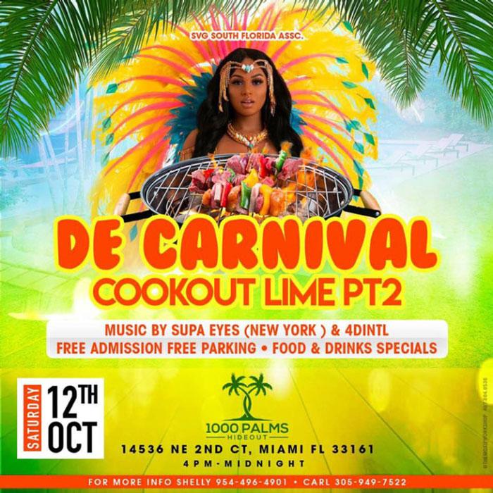 De Carnival Cookout Lime Pt 2.