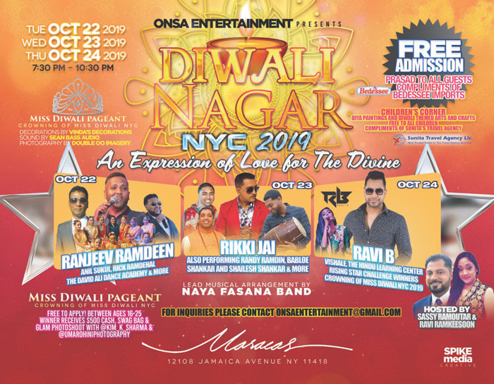 Diwali Nagar NYC 2019