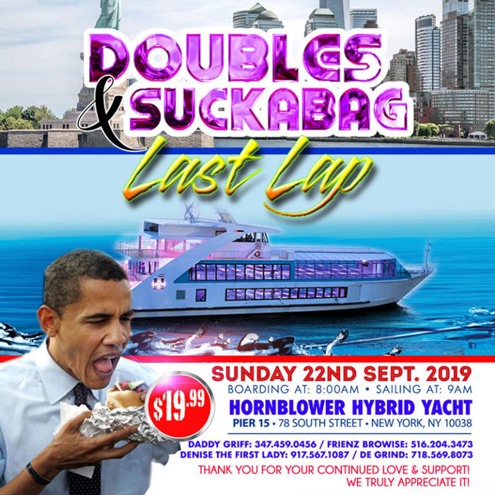 Doubles And Suckabag Last Lap