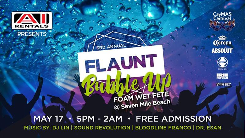 Flaunt - Bubble Up Foam Wet Fete