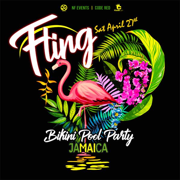 Fling Bikini Pool Party