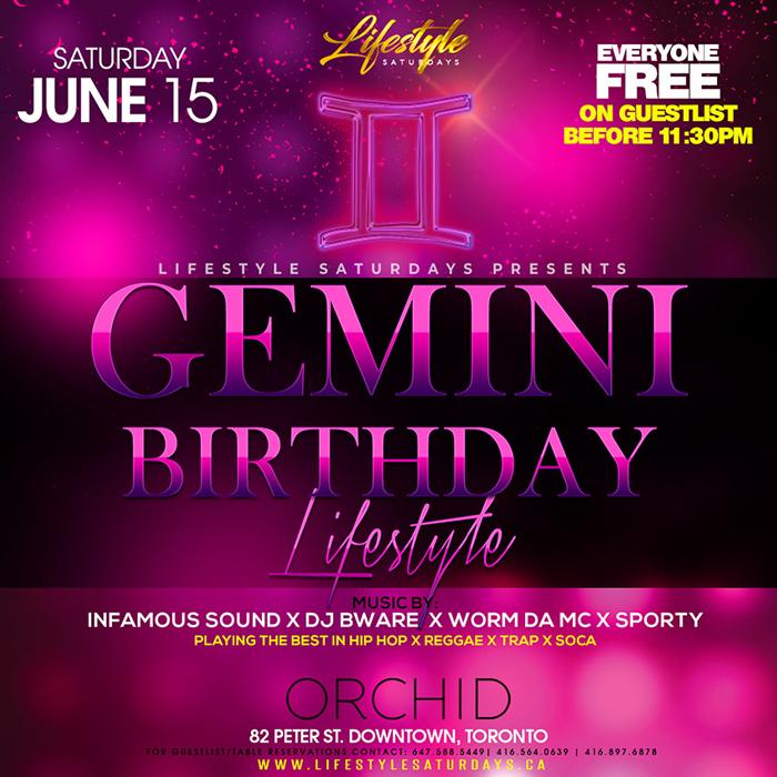 Gemini Birthday Lifestyle