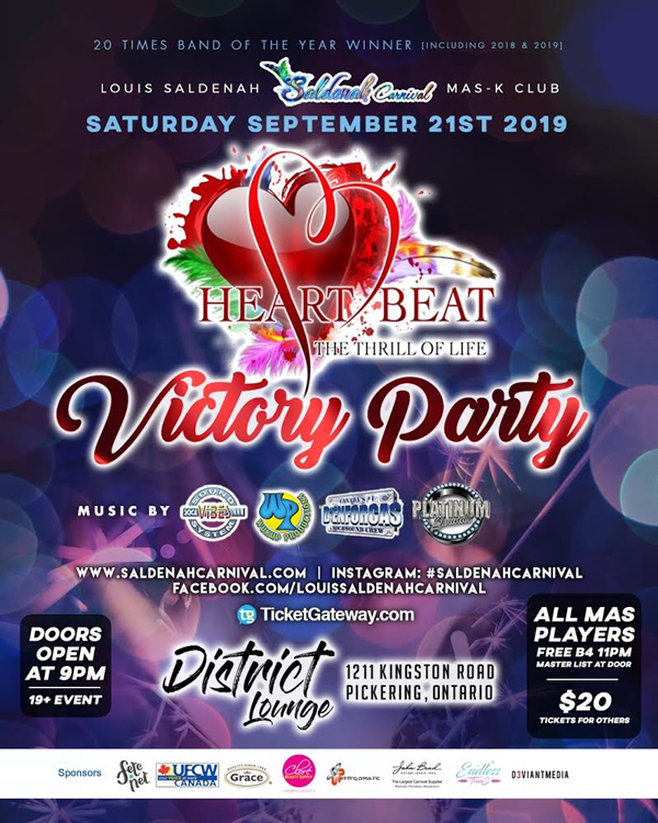 Heart Beat - The Thrill Of Life - Victory Party