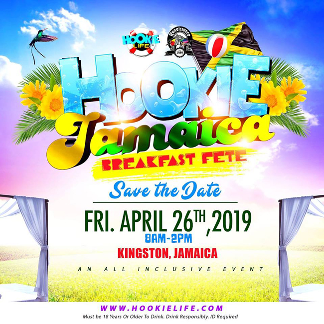 Hookie Jamaica 2019 - All-Inclusive Breakfast Pool Party