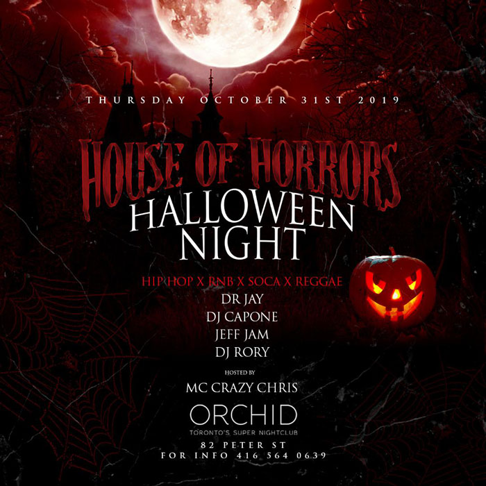 House Of Horrors Halloween Costume Party