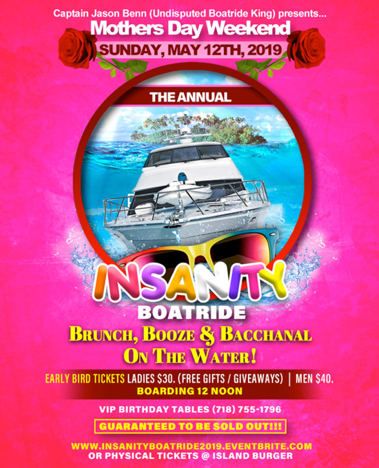 Insanity Boatride 2019 :: TriniJungleJuice - Trini Jungle