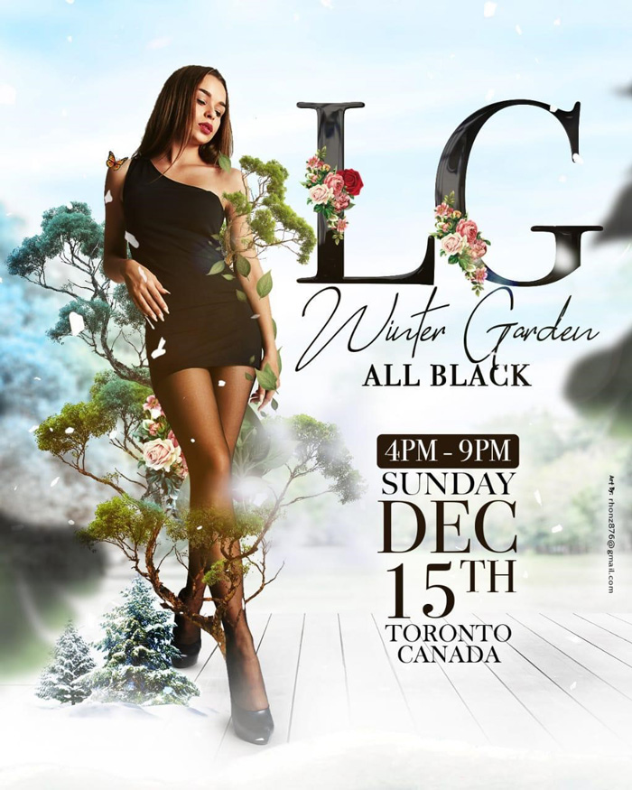 LG Winter Garden - All Black