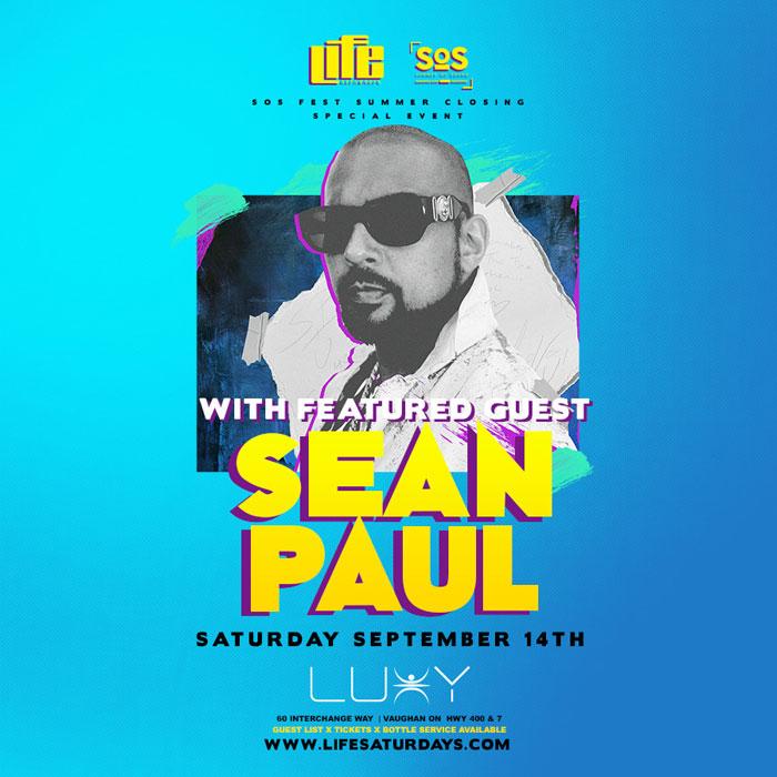 Life Saturdays - Sean Paul