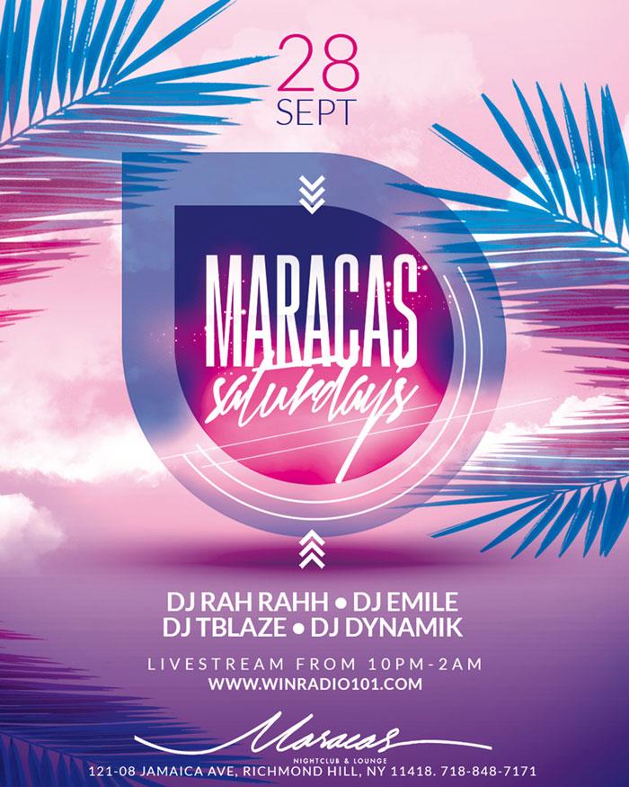 Maracas Saturdays