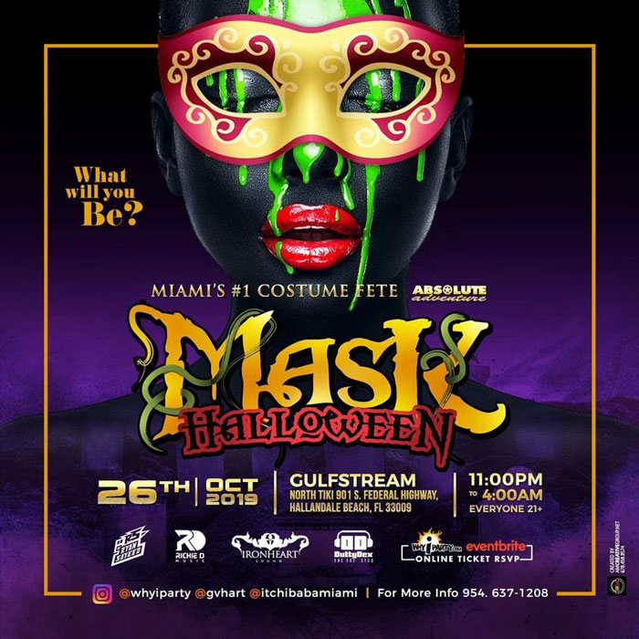 MASK Halloween Costume Party