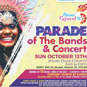Miami Carnival Parade of Bands and Concert 2019