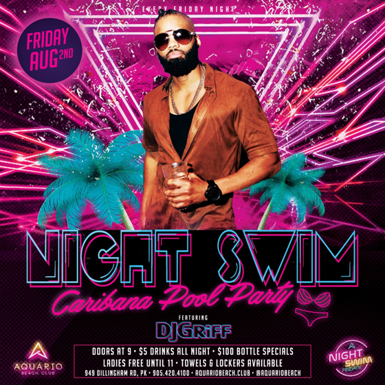 Night Swim Caribana Friday Edition :: TriniJungleJuice - Trini