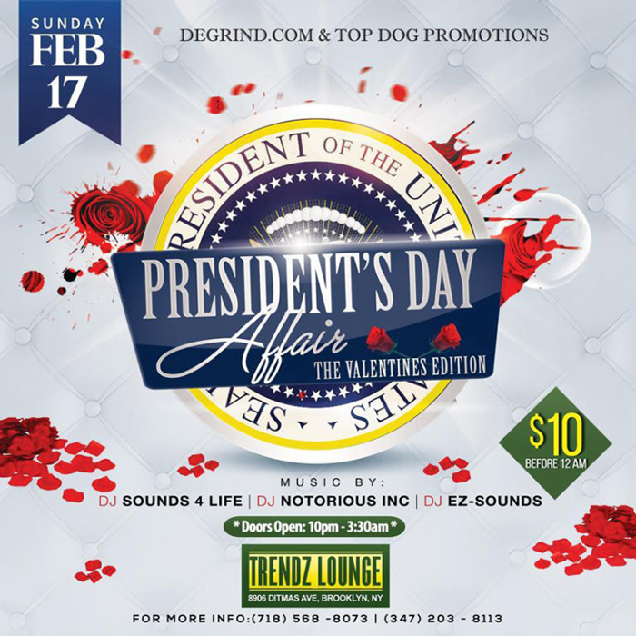 President's Day Affair - The Valentines Edition