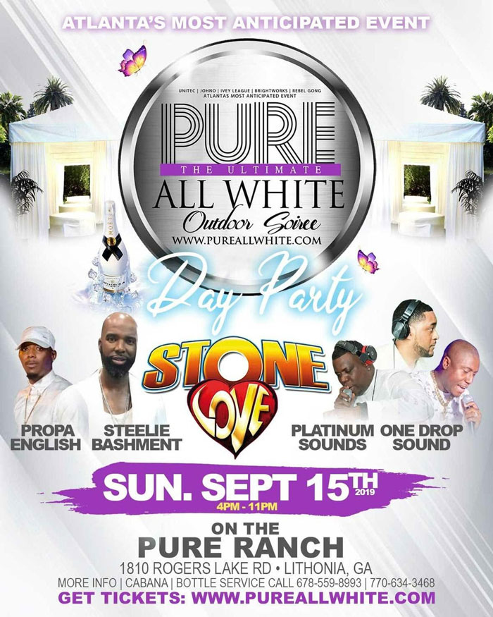#PURE The Ultimate All White Outdoor Day Soirée