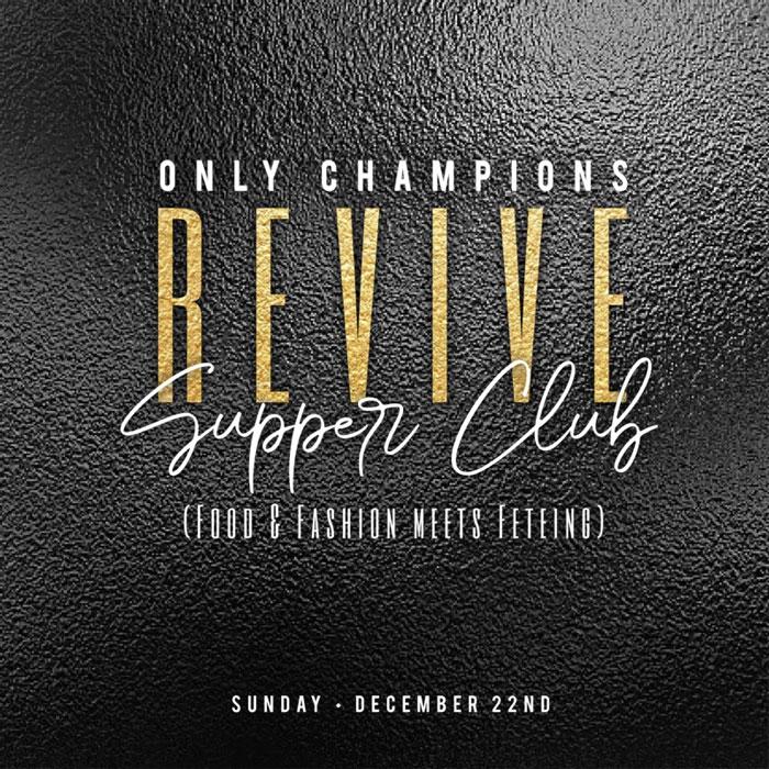 REVIVE: Supper Club