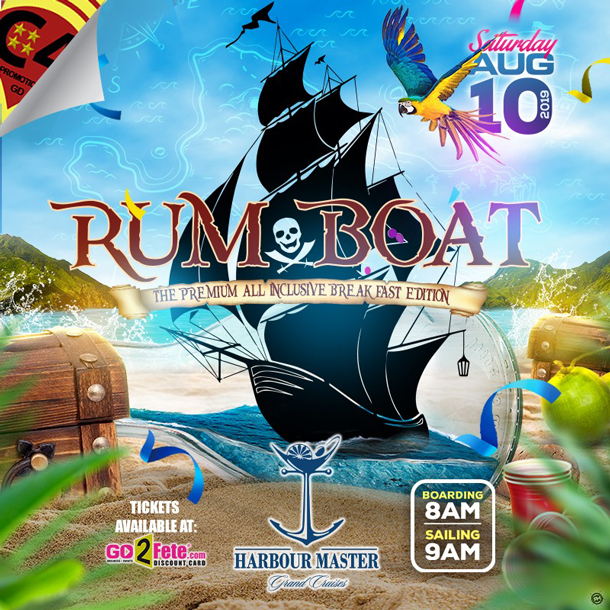 "Rum Boat ""The Premium Breakfast All Inclusive Edition"""