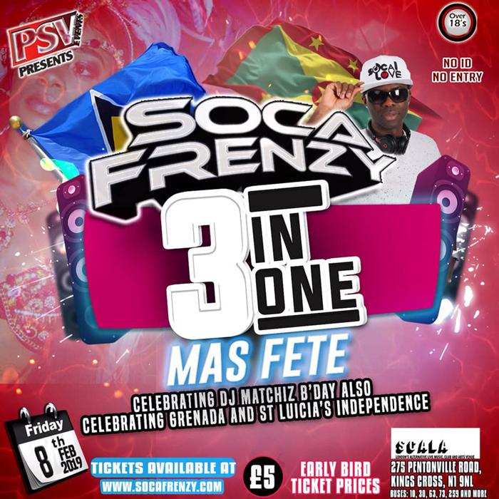 Soca Frenzy - 3 In 1 Mas Fete :: TriniJungleJuice - Trini