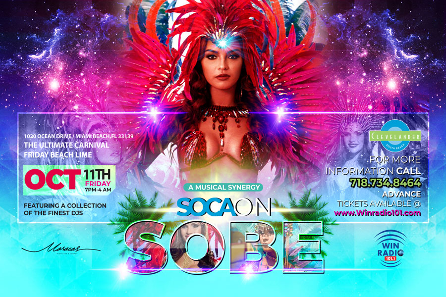 Soca on South Beach 2019