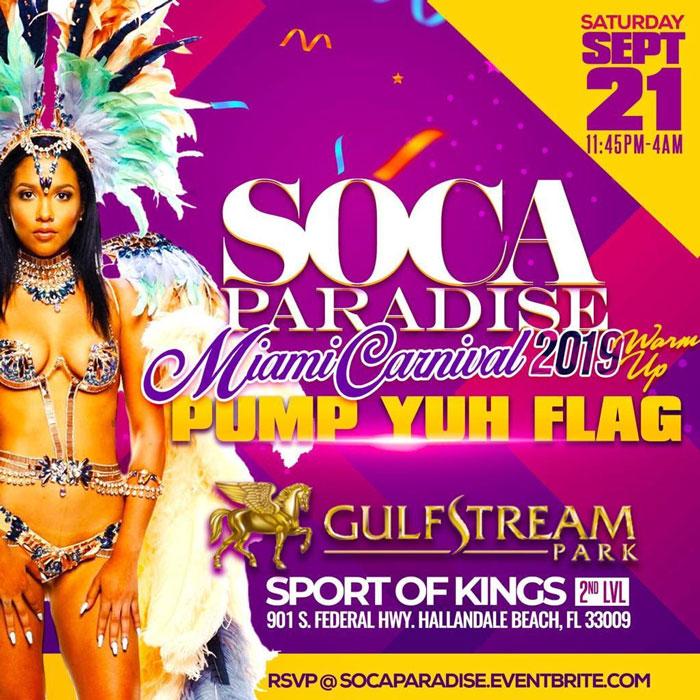 Soca Paradise : Miami Carnival 2019 Warm-Up