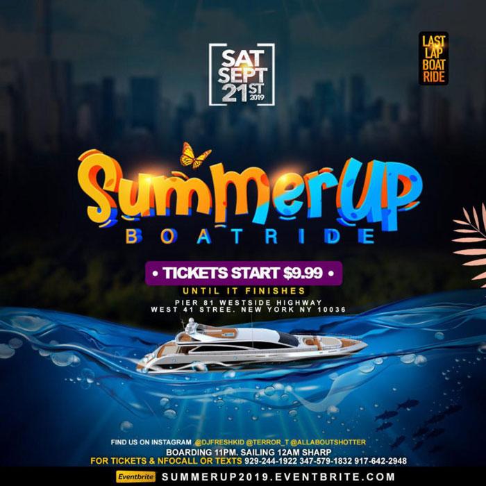 Summer Up Boat Ride