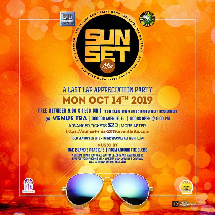 Sunset MIA - Last Lap Appreciation Party