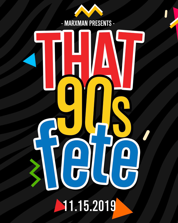 That 90s Fete Fall 2019