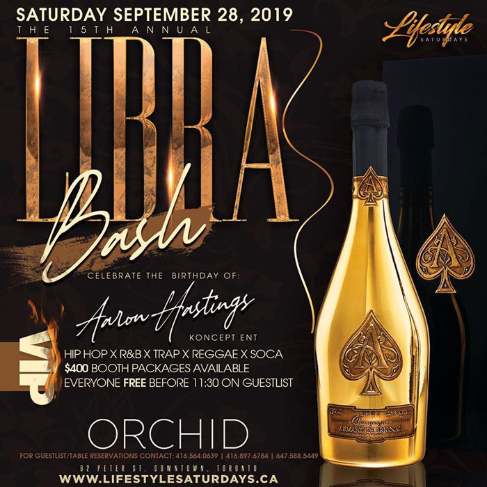 The 15th Annual Libra Bash