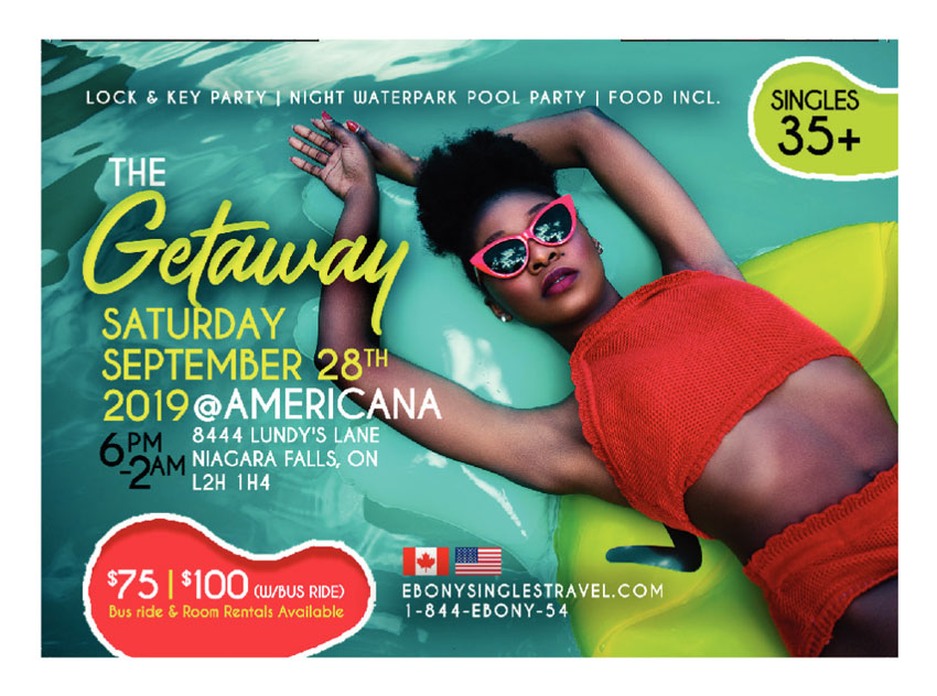 """The Getaway"" Canada meets USA (Singles Event)"