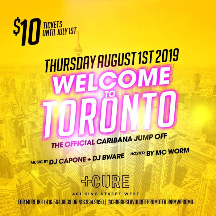 The Official Caribana Jump Off!