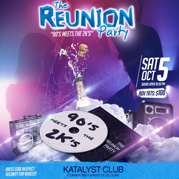 The Reunion Party - The 90s Meets The 2Ks