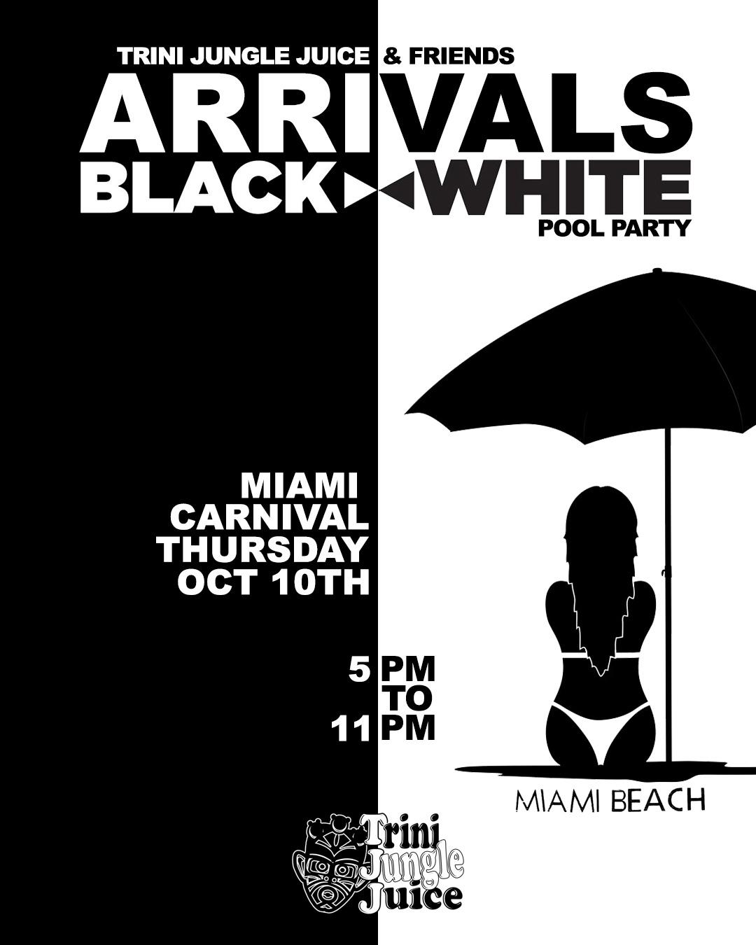 Trini Jungle Juice ARRIVALS Miami 2019