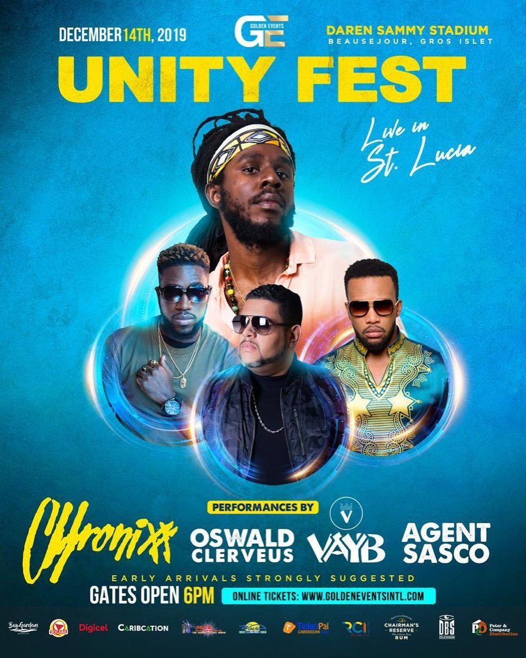 Unity Fest - Chronixx Live in St. Lucia
