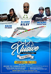XLusive All-White Boat Cruise